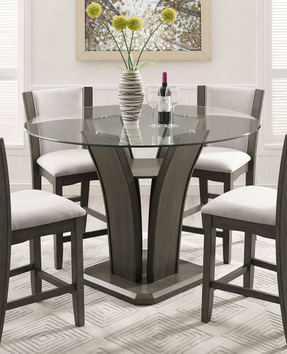 CAMELIA COUNTER HEIGHT TABLE GREY