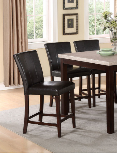 DOMINIC COUNTER HEIGHT CHAIR 2 PCS SET