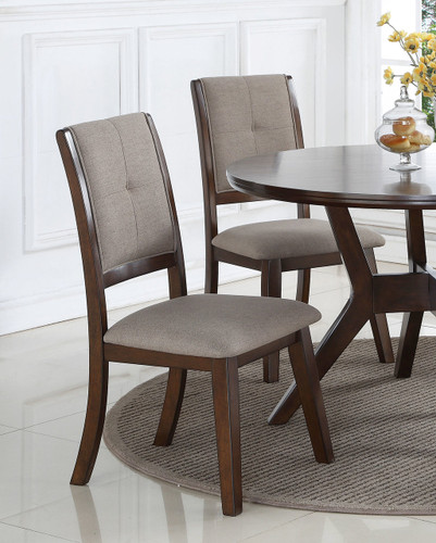 BARNEY DINING CHAIR 2 PCS SET