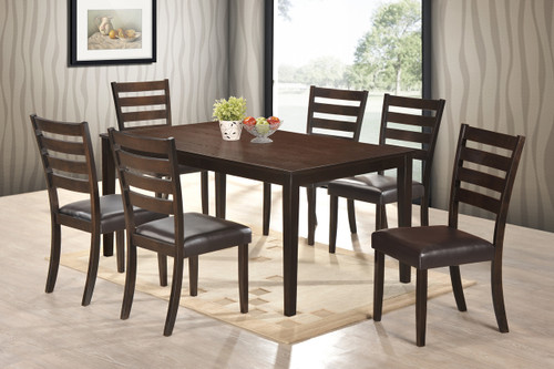 AUBERY DINING TABLE-2340T/3864