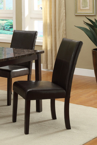 2PC SET POMPEI SIDE CHAIR