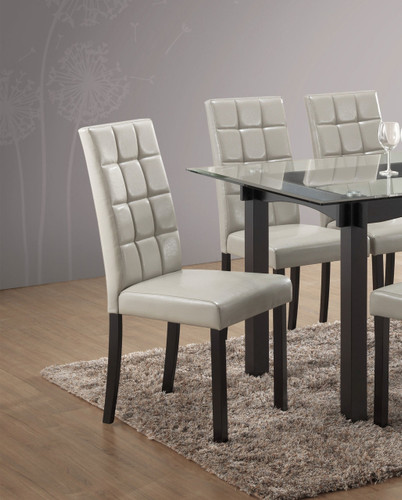 ZORA DINING CHAIR 2 PCS SET-1220S/GY