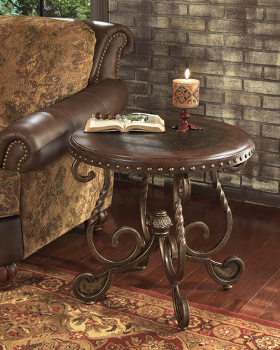 MATTEO BROWN END TABLE