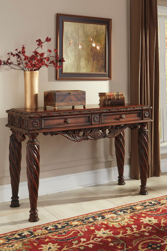 CHRISTOPHER WOODEN SOFA TABLE