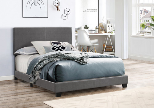 ERIN COMPLETE BED PU GREY