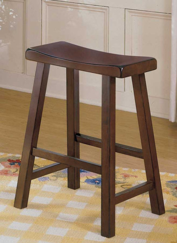 "SADDLEBACK 24""H STOOL CHERRY"