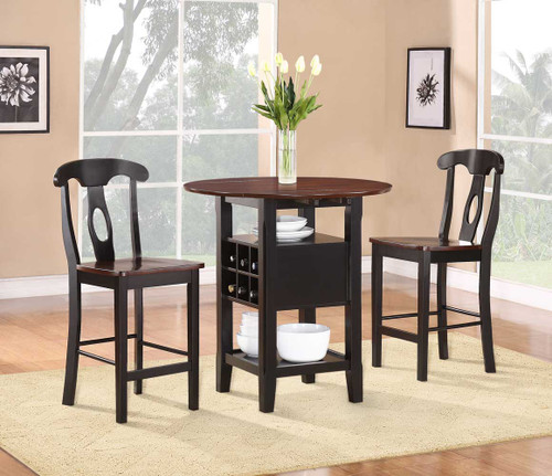 ATWOOD COUNTER HEIGHT TABLE 3 PCS SET