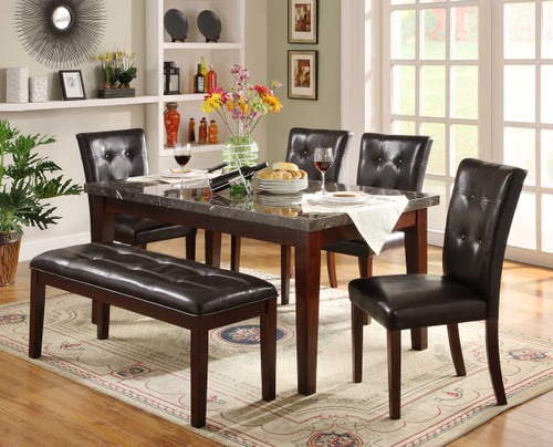 DECATUR COLLECTION DINING TABLE 5 PCS SET