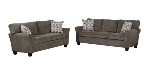 ALAIN COLLECTION SOFA AND LOVE SEAT 2 PCS SET