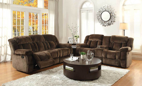 2PC LAURELTON RECLINING SOFA AND LOVESEAT