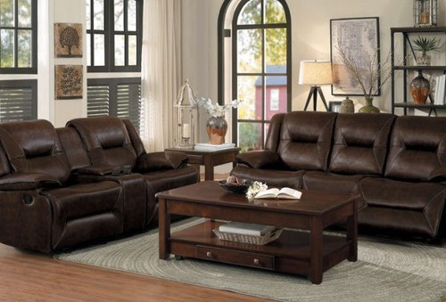 2PC OKELLO RECLINING SOFA AND LOVESEAT