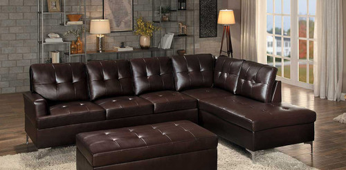 BARRINGTON SECTIONAL BROWN