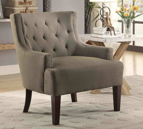 DULCE ACCENT CHAIR GREY