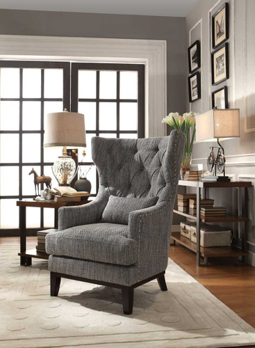 ADRIANO ACCENT CHAIR WITH PILLOW