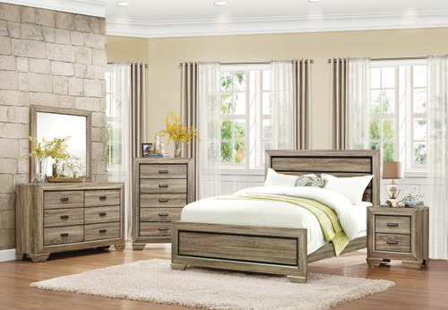BEECHNUT COLLECTION 6 PCS BEDROOM SET