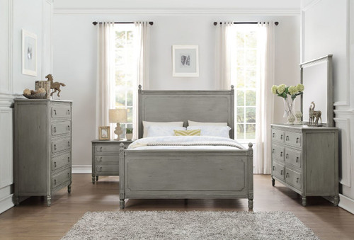 AVIANA COLLECTION 6 PCS BEDROOM SET
