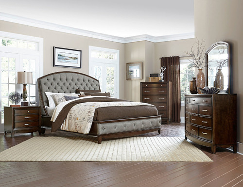 CHELSEA COLLECTION 6 PCS BEDROOM SET
