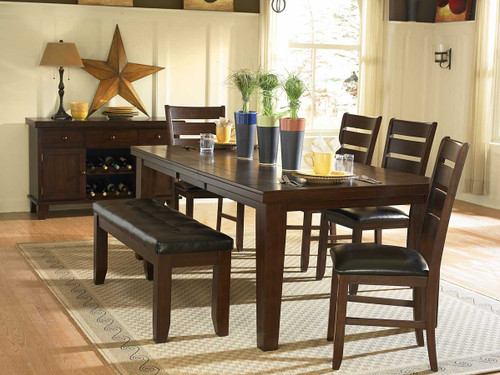 AMEILLIA COLLECTION DINING TABLE 5 PCS SET