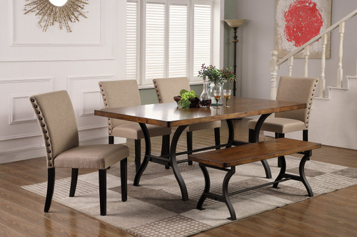 EMMETT DINING TABLE 5 PIECE SET-2121T