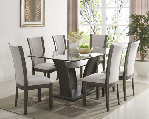 CAMELIA DINING TABLE 5 PIECE SET-1210GY