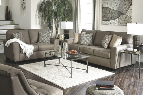 CALICHO CASHMERE COLLECTION SOFA AND LOVE SEAT 2 PCS SET