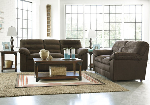 TALUT CAFE COLLECTION SOFA AND LOVE SEAT 2 PCS SET
