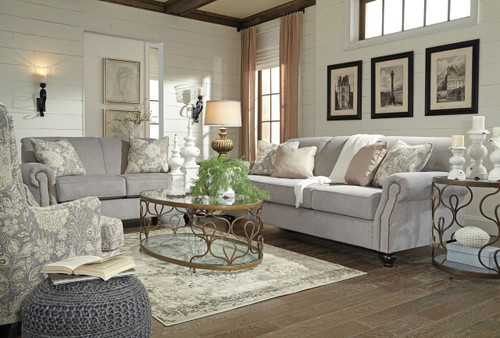 AVELYNNE OCEAN COLLECTION SOFA AND LOVE SEAT 2 PCS SET