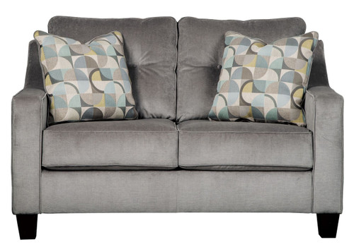 BIZZY SMOKE COLLECTION QUEEN SOFA SLEEPER-69503-39