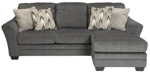 BRAXLIN CHARCOAL COLLECTION QUEEN SOFA CHAISE SLEEPER