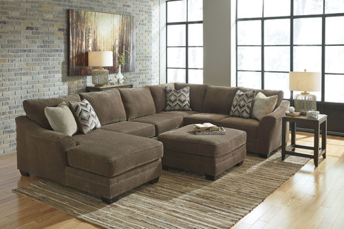 JUSTYNA TEAK COLLECTION SECTIONAL SET