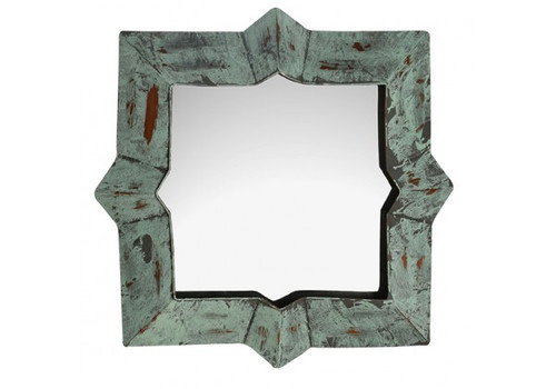 GREEN COPPER MIRROR