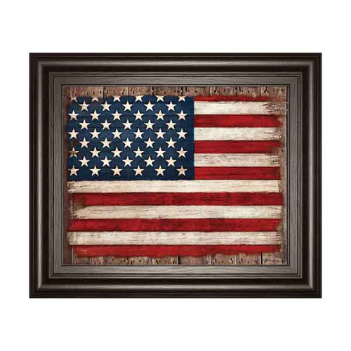 OLD GLORY BY MOLLIE B 22x26