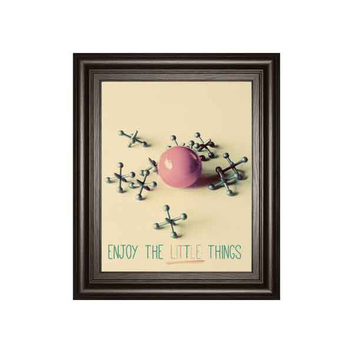 ENJOY THE LITTLE THINGS BY GAIL PECK 22x26