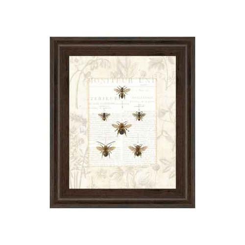 BEE BOTANICALS BY SUE SCHLABACH 22x26