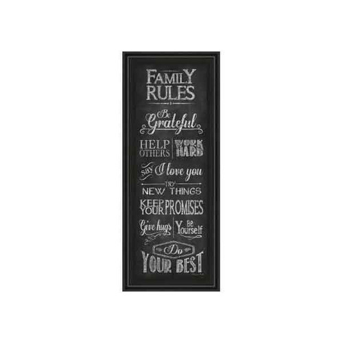FAMILY RULES BY SUSAN BALL 18x42