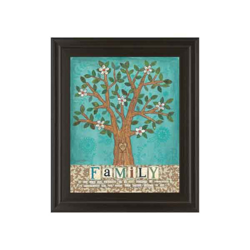 FAMILY TREE BY ANNE LAPOINT 22x26