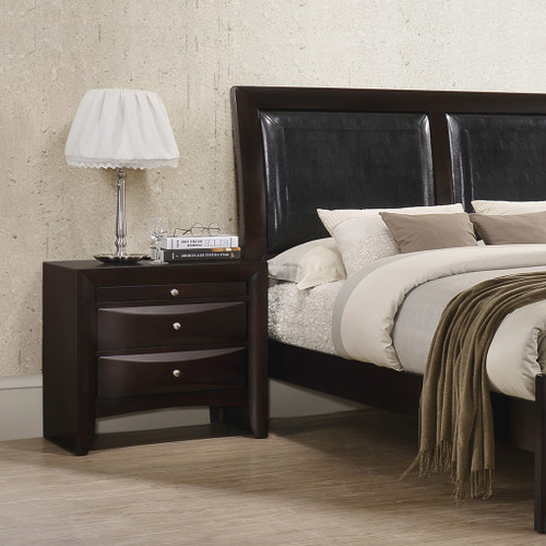 EMILY NIGHT STAND DARK CHERRY-B4260/2