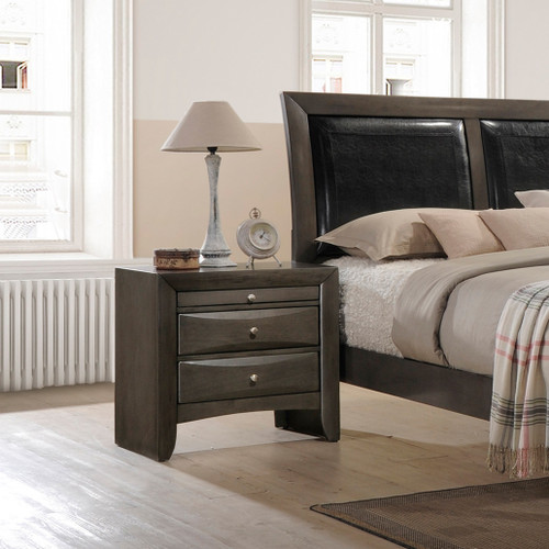 EMILY NIGHT STAND GREY-B4270/2