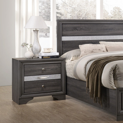 REGATA NIGHT STAND GREY-B4650/2