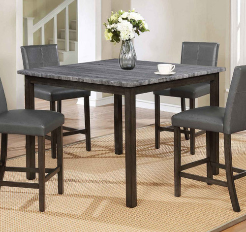 POMPEI COUNTER HEIGHT TABLE GREY