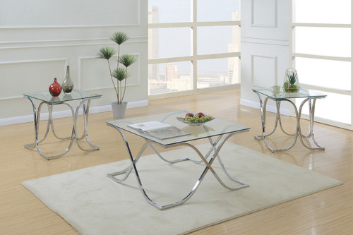 3PCS SQUARE COFFEE TABLE SET