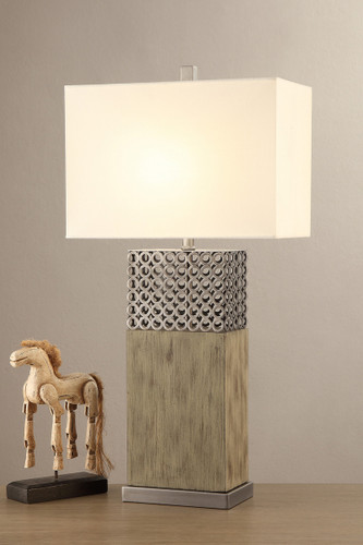 "TABLE LAMP 32""H-F5344"