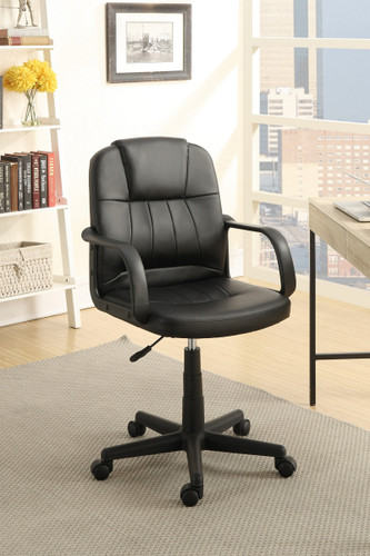 OFFICE CHAIR BLACK-F1625