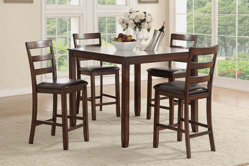 5PCS COUNTER HEIGHT TABLE SET
