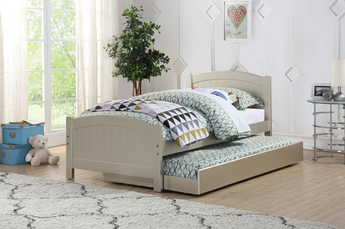 TWIN BED W/TRUNDLE SLV