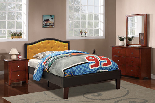 TWIN BED PU CITRUS