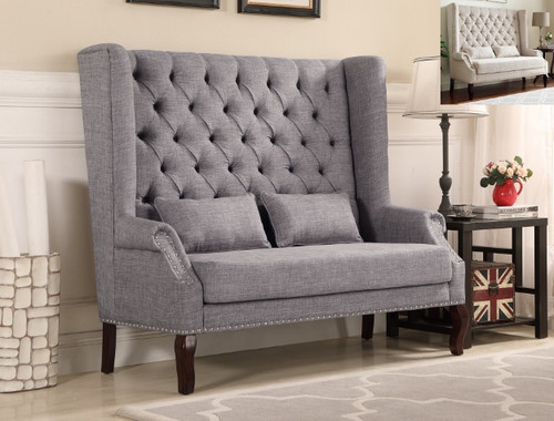 KAYLEE LOVESEAT IN GRAY