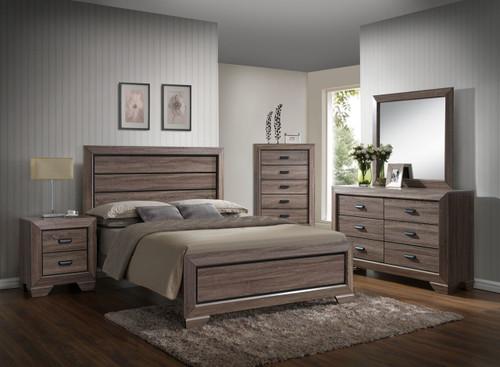 6 PCS FARROW BEDROOM SET