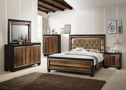 6 PCS KELDA BEDROOM SET
