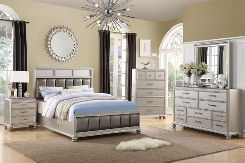 6 PCS OLIVIA BEDROOM SET-F9356-Set